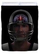 Brain Injury Duvet Cover