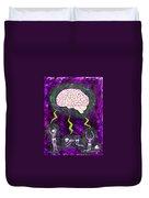 Brain Storm Duvet Cover