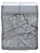 Branched Snow Duvet Cover