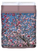 Branches And Blossoms Duvet Cover