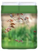 Branches And Leaves Duvet Cover