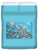 Branches In Bloom Duvet Cover