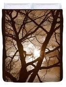 Branches In The Dark 2 Duvet Cover