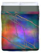 Branches In The Mist 15 Duvet Cover