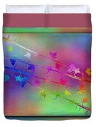 Branches In The Mist 17 Duvet Cover by Tim Allen