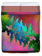 Branches In The Mist 18 Duvet Cover
