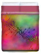 Branches In The Mist 24 Duvet Cover