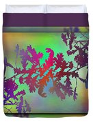 Branches In The Mist 25 Duvet Cover