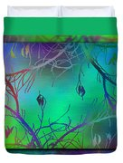 Branches In The Mist 35 Duvet Cover