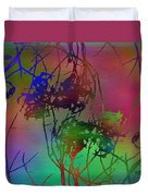 Branches In The Mist 47 Duvet Cover