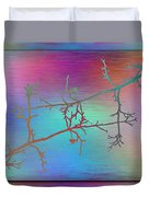 Branches In The Mist 60 Duvet Cover