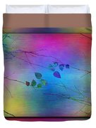 Branches In The Mist 81 Duvet Cover