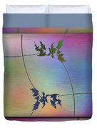 Branches In The Mist 82 Duvet Cover