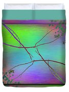 Branches In The Mist 83 Duvet Cover