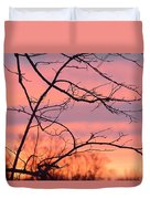 Branches Meet The Sky Duvet Cover