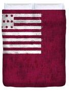 Brandywine Flag Duvet Cover by World Art Prints And Designs