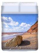 Branscombe Beach - Impressions Duvet Cover