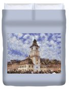 Brasov City Hall Duvet Cover
