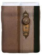 Brass Knob Duvet Cover