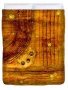 Brass Tokens Duvet Cover