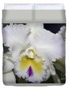 Brassocattleya Orchid 5292 Duvet Cover