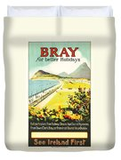 Bray Ireland Duvet Cover by Georgia Fowler