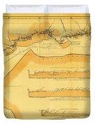 Brazil Cuiaba River 1883 Duvet Cover