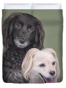 Brea And Randy Duvet Cover