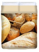 Bread Duvet Cover