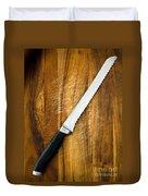 Bread Knife Duvet Cover