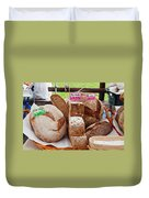 Bread On Local Market Duvet Cover