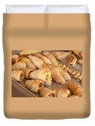 Breakfast Croissant Duvet Cover