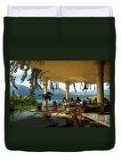 Breakfast In Hanalei Duvet Cover