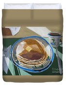 Breakfast Is Served Duvet Cover