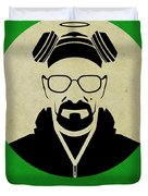 Breaking Bad Poster Duvet Cover