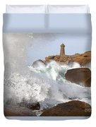Breaking Of Waves Duvet Cover