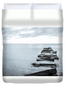 Breakwater Monochrome Duvet Cover