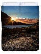 Breathless Sunrise II Duvet Cover