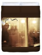 Breaths In The Rain Duvet Cover