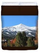 Breckenridge Colorado Duvet Cover