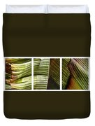 Breeze - Banana Leaf Triptych Duvet Cover