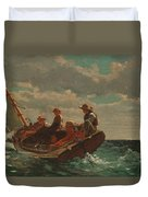 Breezing Up.a Fair Wind Duvet Cover