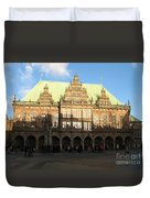 Bremen Town Hall Germany Duvet Cover