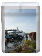 Bremerton Wa Ferry Doc Duvet Cover