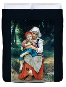 Breton Brother And Sister Duvet Cover