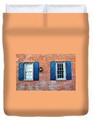 Brick And Shutters Duvet Cover