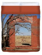 Brick Entry 1 Duvet Cover