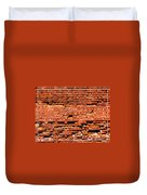 Brick Scarp Walls And Casement Gallery Duvet Cover