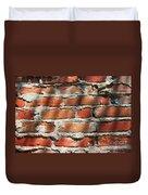 Brick Wall Shadows Duvet Cover