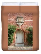 Brickcastle And White Door Duvet Cover